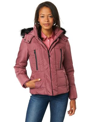 Куртка TOM TAILOR. Цвет: бледно-розовый, лиловый