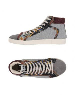 Высокие кеды и кроссовки SPRINGA. Цвет: серый