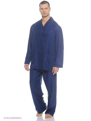 Пижама Maori. Цвет: синий