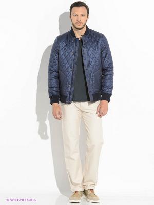 Куртка TIMBERLAND. Цвет: темно-синий, белый