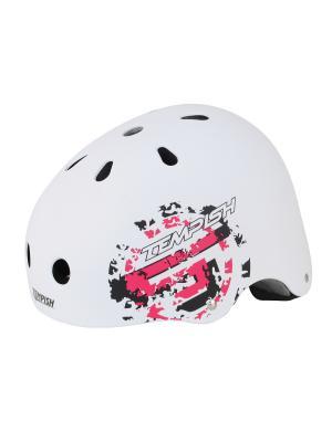 Летний шлем TEMPISH SKILLET Z black. Цвет: белый