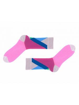 Носки Sammy Icon. Цвет: серый, розовый, зеленый