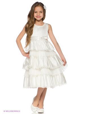 Платье Baby Moses. Цвет: белый
