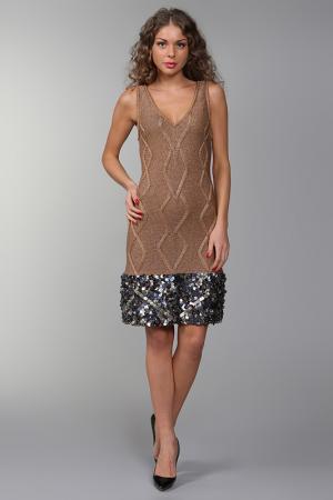 Платье Catherine Malandrino. Цвет: золотой