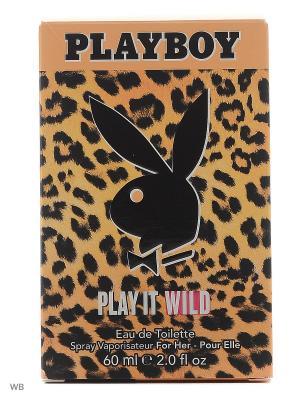 Playboy Play It Wild Female Ж Товар Туалетная вода. Цвет: прозрачный