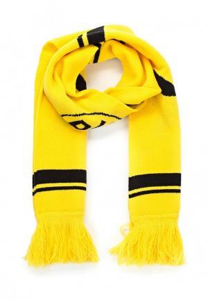 Шарф Puma. Цвет: желтый
