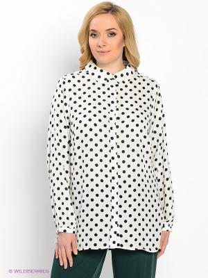 Рубашка New Look. Цвет: белый, черный