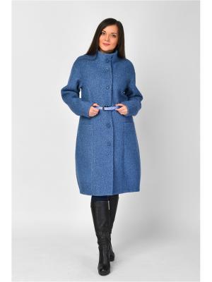 Пальто Maria Velada. Цвет: синий