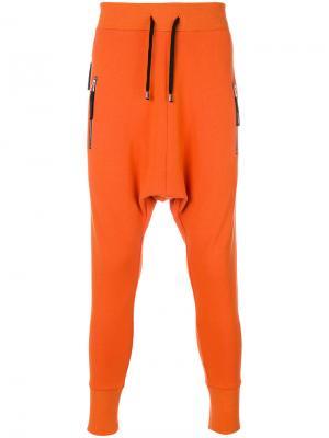 Sarrouel slim trousers Unconditional. Цвет: жёлтый и оранжевый