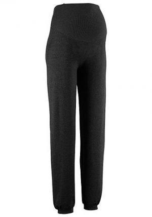 Трикотажные брюки «9 месяцев» NEUN MONATE. Цвет: чёрный