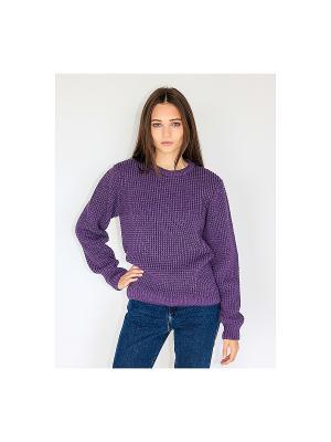 Свитер Wooly's. Цвет: фиолетовый