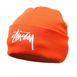 Головные уборы Stussy. Цвет: оранжевый
