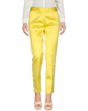 Повседневные брюки CHRISTIAN PELLIZZARI. Цвет: желтый