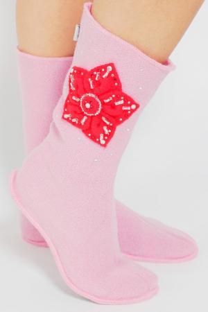 Носожки женские ILTANI design. Цвет: розовый
