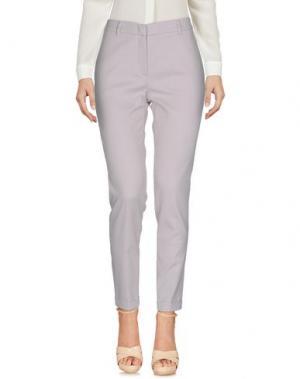 Повседневные брюки QL2 QUELLEDUE. Цвет: сиреневый