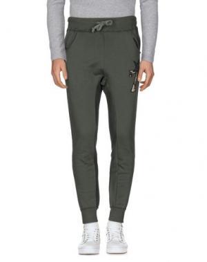 Повседневные брюки JOE RIVETTO. Цвет: зеленый