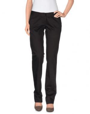 Повседневные брюки PEUTEREY. Цвет: темно-коричневый