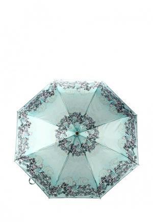 Зонт складной Fabretti. Цвет: зеленый