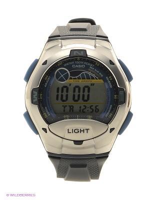 Часы Casio W-753-2A. Цвет: синий