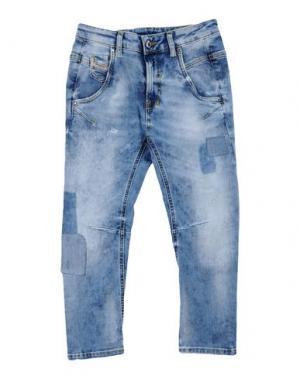 Джинсовые брюки DIESEL. Цвет: синий