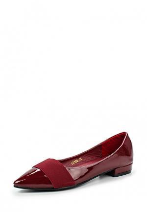 Туфли Damerose. Цвет: бордовый