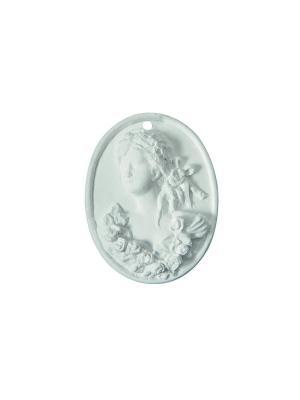 Ароматические украшения Медальон Маркиза Т2, аромат Mathilde M. Цвет: белый