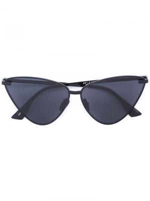 Tinted cat eye sunglasses Le Specs. Цвет: чёрный
