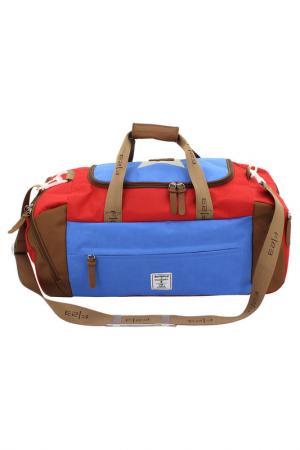 Дорожная сумка F|23. Цвет: синий