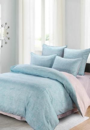 Комплект постельного белья Евро Sofi De Marko. Цвет: разноцветный