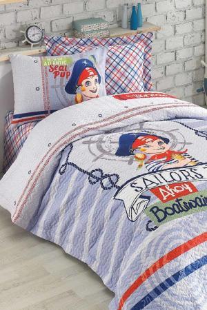 Single Cover Set Cotton box. Цвет: white, red, black