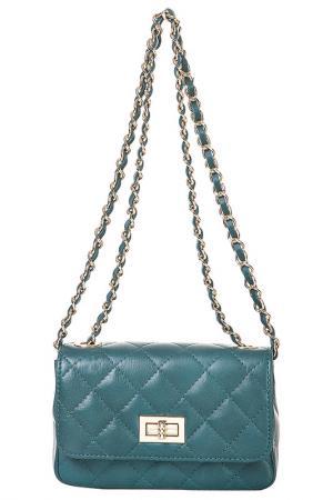Клатч FLORENCE BAGS. Цвет: green