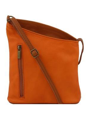 Сумка Tuscany Leather. Цвет: оранжевый