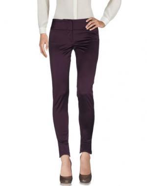 Повседневные брюки MARITHÉ + FRANÇOIS GIRBAUD. Цвет: баклажанный