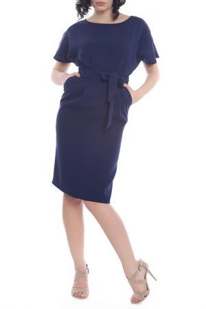 Платье Emma Monti. Цвет: navy