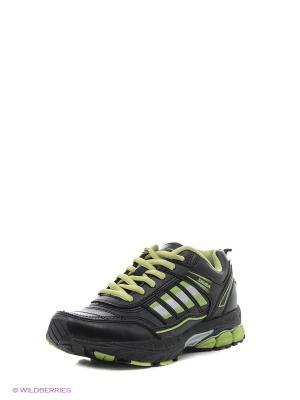Кроссовки Sigma. Цвет: зеленый, черный