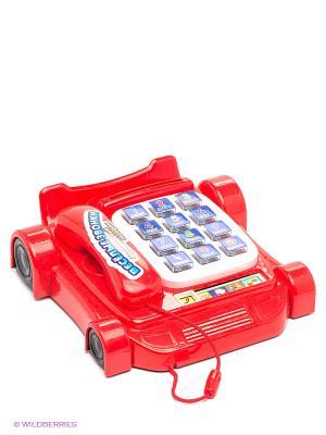 Телефон развивающий Веселые звонки VELD-CO. Цвет: красный