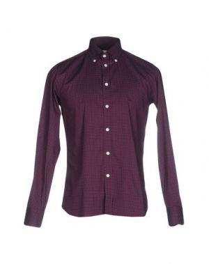 Pубашка BRANCACCIO C.. Цвет: баклажанный