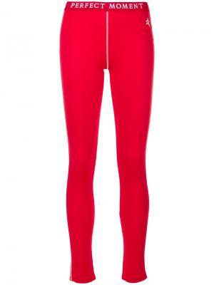 Термо-брюки Perfect Moment. Цвет: красный