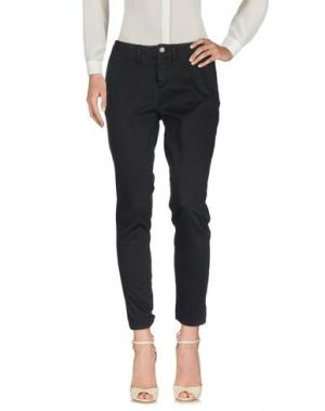 Повседневные брюки BLAUER. Цвет: черный