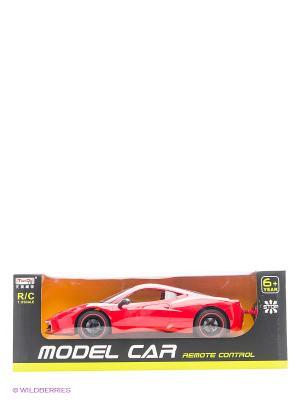 Машинка р/у масштаб 1:10 с зарядным устройством Tian Du. Цвет: красный