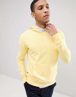 Selected Homme Худи. Цвет: желтый