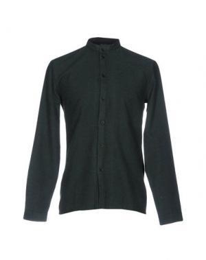 Pубашка ANERKJENDT. Цвет: зеленый