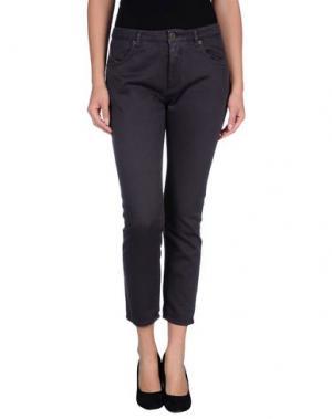 Повседневные брюки SUPERFINE. Цвет: темно-фиолетовый