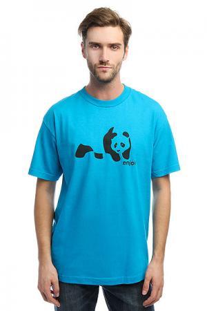 Футболка  Panda Splice Turquoise Enjoi. Цвет: голубой