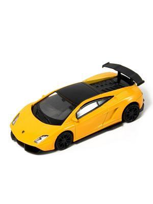 Машина металлическая HOFFMANN. Цвет: желтый