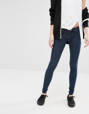 Dr Denim Облегающие джинсы Kissy. Цвет: синий