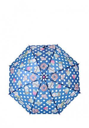 Зонт-трость Acoola. Цвет: синий