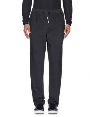 Повседневные брюки JIJIL. Цвет: свинцово-серый