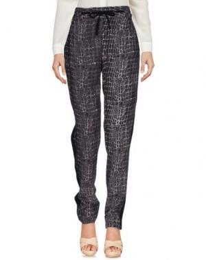 Повседневные брюки SWILDENS. Цвет: темно-фиолетовый
