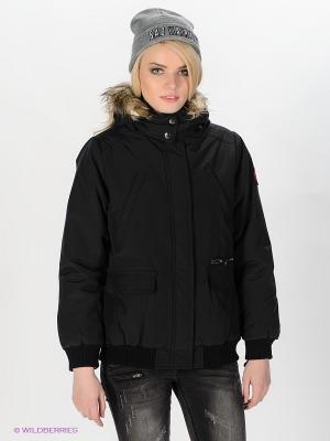 Куртка Tally Weijl. Цвет: черный
